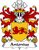 Welsh Coat of Arms for Antonius (AP SEIRIOL AP GORWST)