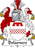 Irish Coat of Arms for Delamere
