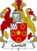 Irish Coat of Arms for Cantell