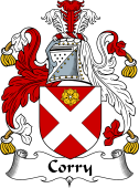 Irish Coat of Arms for Corry