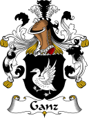 German Wappen Coat of Arms for Ganz