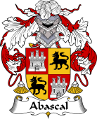 Spanish Coat of Arms for Abascal