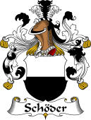 German Wappen Coat of Arms for Schöder