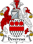Irish Coat of Arms for Devereux