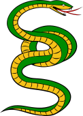 Serpent Bowed Nnotted, Debruised and Torqued