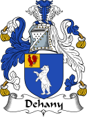 Irish Coat of Arms for Dehany or Doheny