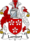 Irish Coat of Arms for Lambert