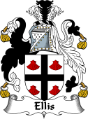 Irish Coat of Arms for Ellis