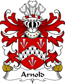 Welsh Coat of Arms for Arnold (Sir, Acquired Llanthony Abbey)