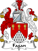 Irish Coat of Arms for Fagan