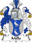 Irish Coat of Arms for Mills
