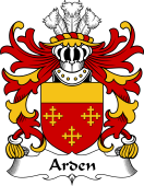 Welsh Coat of Arms for Arden (Sir John, of Cheshire)
