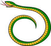 Serpent Embowed, Encircled, Enwrapped, Involved