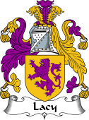 Irish Coat of Arms for DeLacy or Lacy