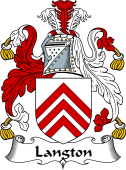 Irish Coat of Arms for Langton