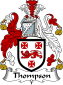 Irish Coat of Arms for Thompson