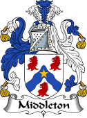 Irish Coat of Arms for Middleton