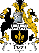 Irish Coat of Arms for Dixon