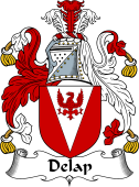 Irish Coat of Arms for Delap or O