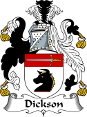 Irish Coat of Arms for Dickson