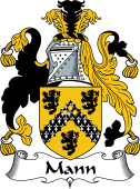 Irish Coat of Arms for Mann