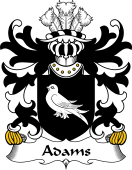 Welsh Coat of Arms for Adams (Patrickchurch, Pembrokeshire)