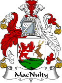 Irish Coat of Arms for MacNulty II