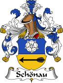 German Wappen Coat of Arms for Schönau