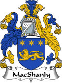 Irish Coat of Arms for MacShanly