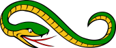 Serpent Reguardant, Recurvant, Reverted the Tail Embowed