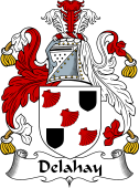 Irish Coat of Arms for Delahay
