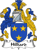 Irish Coat of Arms for Hilliard