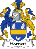 Irish Coat of Arms for Harnett or Hartnett