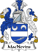 Irish Coat of Arms for MacNevins