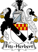Irish Coat of Arms for Fitz-Herbert