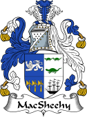 Irish Coat of Arms for MacSheehy