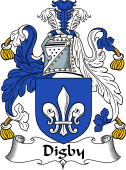 Irish Coat of Arms for Digby
