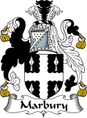 Irish Coat of Arms for Marbury