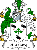 Irish Coat of Arms for Starkey or Sharkey