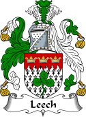 Irish Coat of Arms for Leech