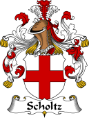 German Wappen Coat of Arms for Scholtz
