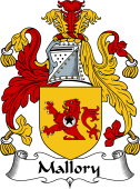 Irish Coat of Arms for Mallory