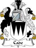 English Coat of Arms for Cade