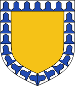 Bordure Vairy (Shield # 9)