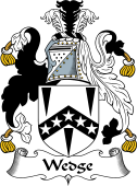 English Coat of Arms for Wedge