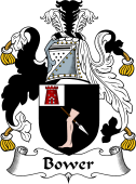 English Coat of Arms for Bower