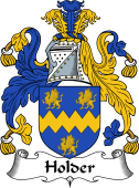 English Coat of Arms for Holder
