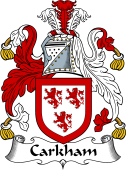 Irish Coat of Arms for Carkham