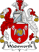 English Coat of Arms for Wadsworth