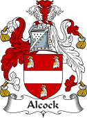Irish Coat of Arms for Alcock